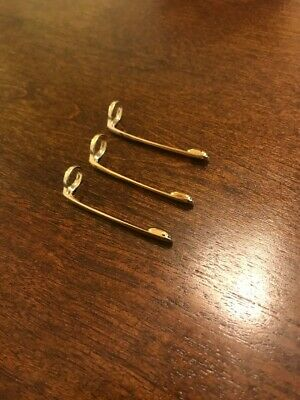 MONTBLANC clip for classic pen144, 163, 164,165 REPLACEMENT PART W-Germany Set 3