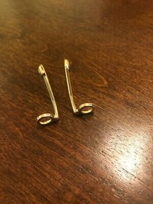 MONTBLANC clip for classic pen144, 163, 164,165 REPLACEMENT PART Germany Set 2