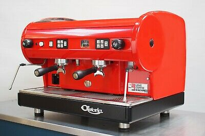 CMA Astoria 2 Group Lisa Coffee Espresso Machine - Dramatic Red & Simply WOW!