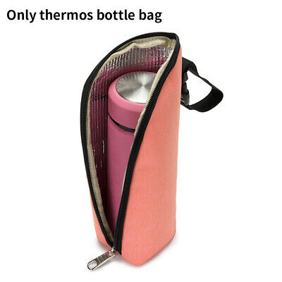 Milk Warmer Insulation Baby Bottle Bag Thermal Travel Portable Carrying Pouch