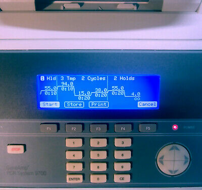 ABI GeneAmp PCR 9700 System (60-Well) (SEE VIDEO RUNTIME DEMO)