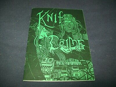 Megg Moog And Owl Knife Crime 1 Mini Comic Simon Hanselmann Only 500 Rare