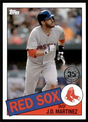 2020 Topps Series 1 1985 #85-16 J.D. Martinez - Boston Red Sox