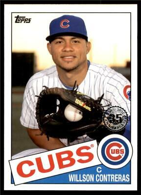 2020 Topps Series 1 1985 #85-28 Willson Contreras - Chicago Cubs
