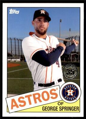 2020 Topps Series 1 1985 #85-45 George Springer - Houston Astros