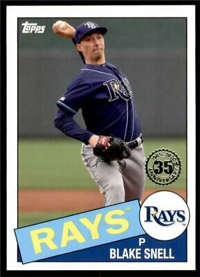 2020 Topps Series 1 1985 #85-94 Blake Snell - Tampa Bay Rays