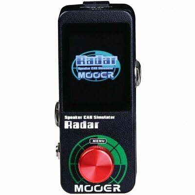 New Mooer Mooer Radar Speaker Cab Simulator Micro Guitar Effects Pedal