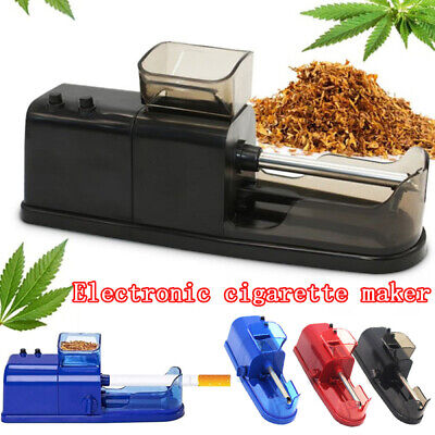 Electric Auto Cigarette Rolling Machine DIY Tobacco Injector Maker Roller Maker
