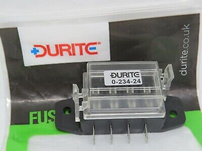 Durite 0-234-14 Bottom Access Fuse Box for Standard Blade Fuses
