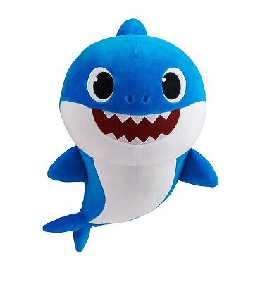 Authentic tags WowWee Pinkfong Square Shark Official Doll Plush English Song