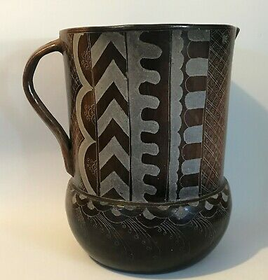 Huge Antique South American Clay Water Pitcher South West Mexican Peruvian ...