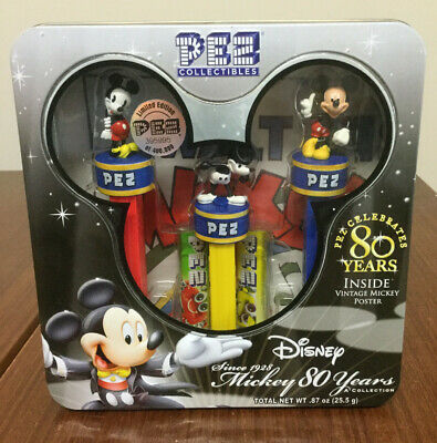 Pez Collectibles - Mickey Mouse 80 years - NRFB