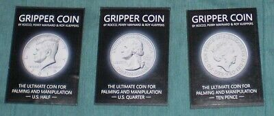 Gripper Coins by Rocco Silano - New Magic Coins