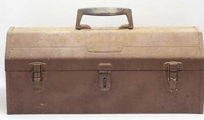 Vintage Craftsman Crown Emblem Metal Tool Chest Box Pull Out Tray