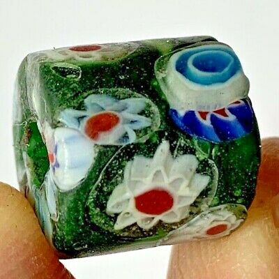 EXCEPTIONAL SCARCE-PHOENICIAN GLASS COLOURED GLASS BEAD 6.4gr 15.0mm