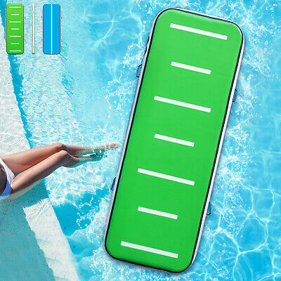 10FT Air Track Inflatable Airtrack Tumbling Gymnastics Mat Home Yoga Training