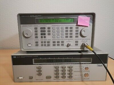 HP 5351B Microwave Counter bis 26.5 GHz CW + Option 002