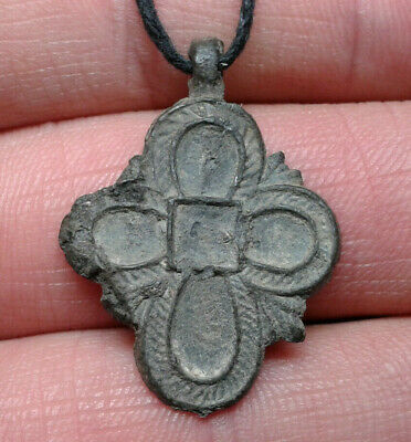 Ancient Leaden Cross 9th to the mid-13th century.