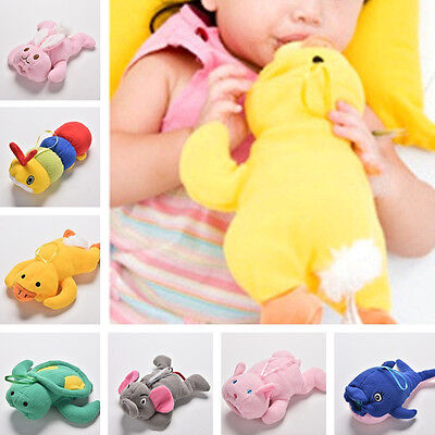 Baby Kids Cartoon Feeding Bottles Bag Lovely Milk Bottle Pouch Cover Toys QP