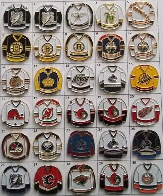 Different Teams Nhl Hockey Jersey Logo Pin (Your Choice) # G801