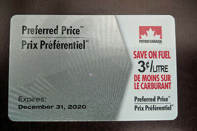 $30 Petro Canada Preferred Price Fuel Savings Gift Card - 3 cents off 1000Liters