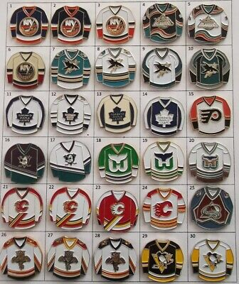 Different Teams Nhl Hockey Jersey Logo Pin (Your Choice) # G802