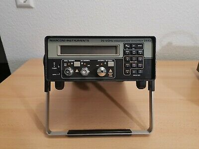 Marconi Instruments 2442 CW Microwave Counter 26.5 GHz, HPIB