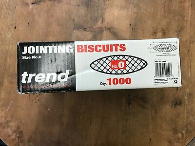 Genuine Trend BSC/0/1000 Jointing Biscuits Size 0 Box of 1000