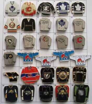 Different Teams Nhl Hockey Jersey Logo Pin (Your Choice) # G805