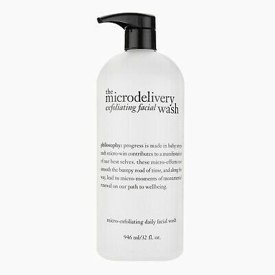 Philosophy Microdelivery Exfoliating Facial Wash Cleanser, Supersize 946ml