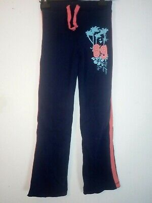 Bnwt Primark Young Dimension Girls Navy Jog Pants 10-11 Years 146cm
