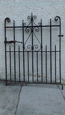 Antique wrought iron gate 1920's