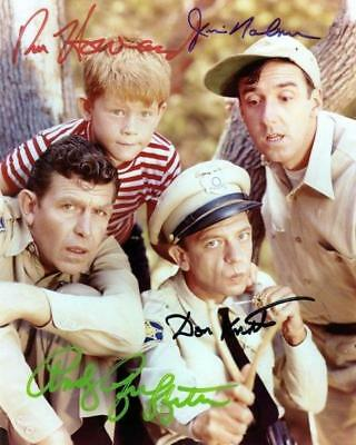 REPRINT - ANDY GRIFFITH SHOW Cast Signed 8 x 10 Glossy Photo Poster