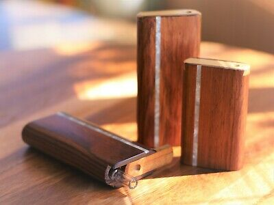 Honduras Wood Dugout and one hitter- Perfect on the go smoking device