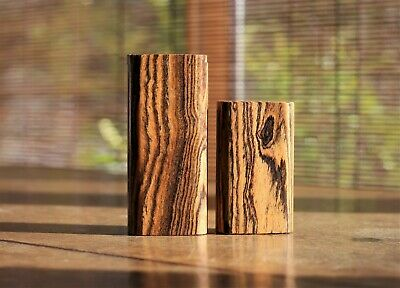 Bocote Wood Dugout and one hitter- Perfect on the go smoking device