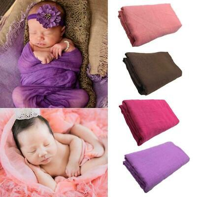 Newborn Baby Infant Toddler Wrap Swaddle Blanket Photography Props best 90* C5Z7