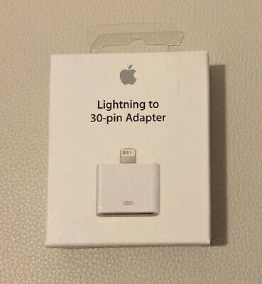 Brand New Sealed Apple Lightning to 30-pin Adapter