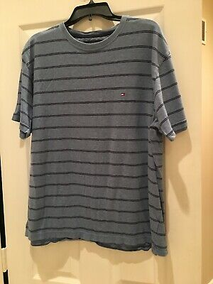 Tommy Hilfiger T-Shirt Mens Crew Neck Tee Classic Fit Short Sleeve Solid Shirt!!