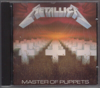 CD Metallica Master of Puppets Canada Columbia House Edition E260439