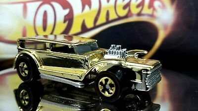 Hot Wheels FAO Schwarz Gold Series Collection 2 The Demon LIMITED EDITION