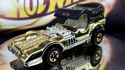 Hot Wheels FAO Schwarz Gold Series Collection 2 Mutt Mobile LIMITED EDITION