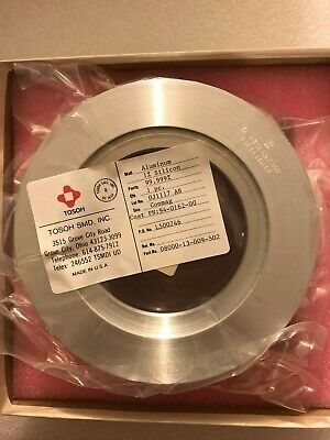 TOSOH Sputtering Conmag Target. Al / 1%Si for Varian 3180. Purity 99.999%