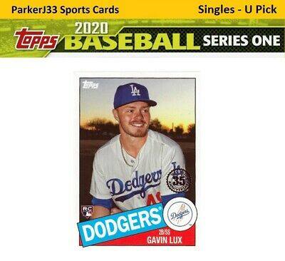 2020 Topps Series 1 1985 35th Anniversary Insert - You Pick - Complete your Set