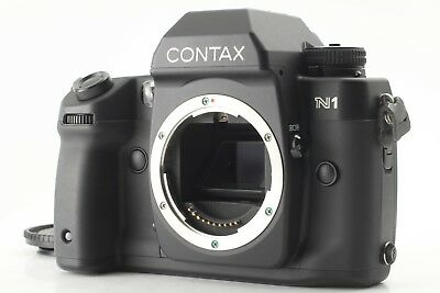 【 Near MINT- 】 Contax N1 35mm SLR Film Camera Body Only from JAPAN #303