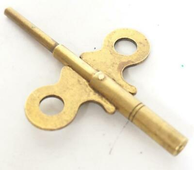 Antique Mantle Clock Key Double Ended Brass Mantel Clock Key English Clock