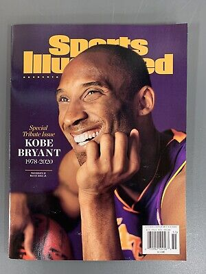 Lakers Kobe Bryant Sports Illustrated Magazine Tribute Edition 2020 100 Pages!