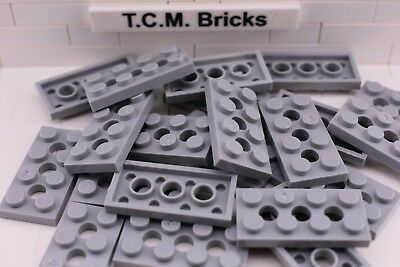 LEGO Lot of 12 Light Bluish Gray 2x3 Flat Building Plate Pieces