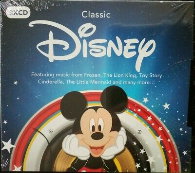 Classic Disney - Various Artists (3CD Album) New and Sealed