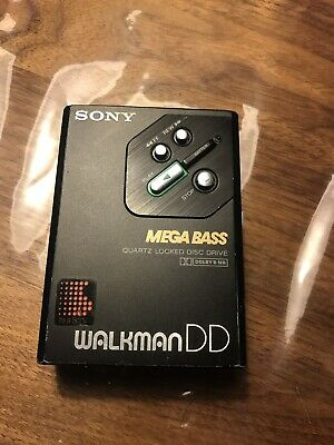 Sony WM-DD30 Walkman New gear
