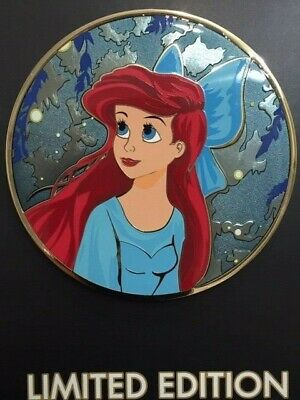 Disney Acme/HotArt ARIEL The Little Mermaid KISS THE GIRL Pin LE300 Golden Magic